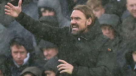 Daniel Farke is not concerned by Norwich City's difficult spell of results Picture: Paul Chesterton/