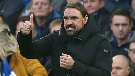 Daniel Farke insists the mood in the City camp remains upbeat Picture: Paul Chesterton/Focus Images