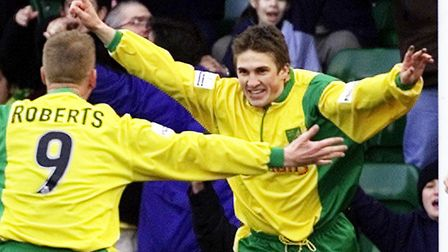Paul McVeigh made 246 appearances for Norwich City Picture: Archant library
