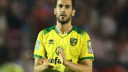 Mario Vrancic returns to Norwich City's squad after an eight-game absence Picture: Paul Chesterton/F
