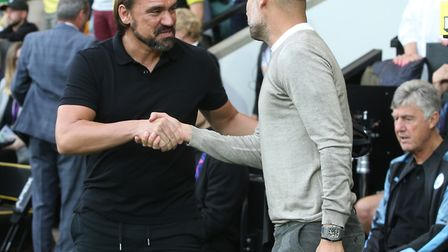 When Daniel met Pep - and the football world watched a stunning story unfold Picture: Paul Chesterto