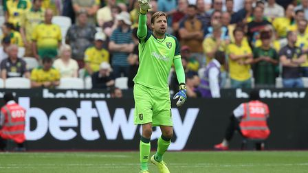 Tim Krul has been ruled out by injury just as he was showing his best form Picture: Paul Chesterton/