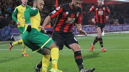 Andrew Surman has faced the Canaries on four occasions since he joined Bournemouth Picture: Paul Che