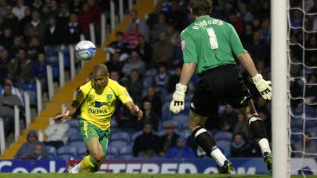 Stooping to conquer - Simeon Jackson scores at Portsmouth, and City are in the Premier League Pictur