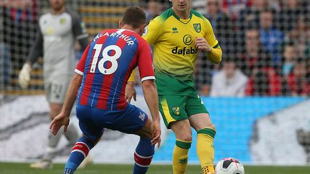 Norwich City's return Premier League fixture against Crystal Palace will be broadcast live Picture: