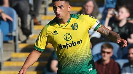 Ben Godfrey has been an ever-present for Norwich City in the Premier League so far this season Pictu