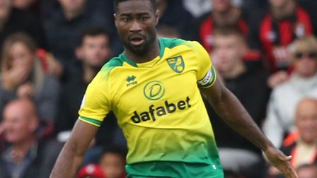 Alex Tettey had a vital role to play in Norwich City's 0-0 Premier League draw at Bournemouth Pictur