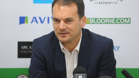 Norwich City sporting director Stuart Webber Picture: Tony Thrussell