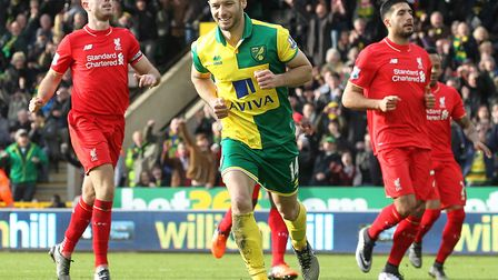 Wes Hoolahan took and scored Norwich City's last penalty in the top flight, during a 5-4 home loss t