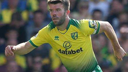 Norwich City defender Grant Hanley had groin surgery in the international break Picture: Paul Cheste
