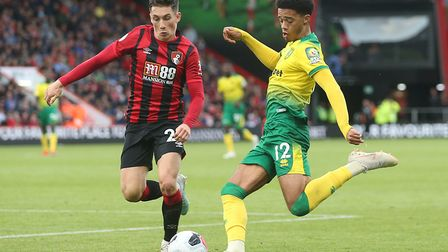 Jamal Lewis looks to make inroads as City attack. Picture: Paul Chesterton/Focus Images Ltd
