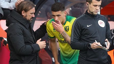 Ben Godfrey lasted 50 minutes before departing in a fresh injury scare during Norwich City's 0-0 Pre