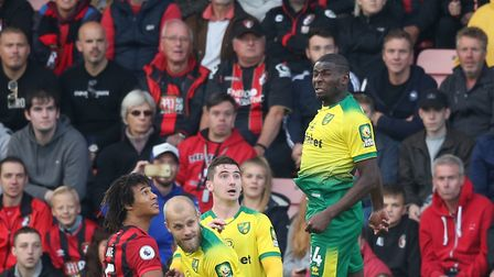 Ibrahim Amadou was a commanding figure in Norwich City's last awayday at Bournemouth Picture: Paul C