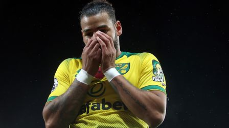 Onel Hernandez of Norwich during the Premier League match at Carrow Road, NorwichPicture by Paul Che