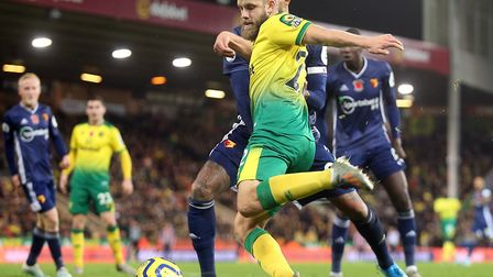 Teemu Pukki joins up with Finland after a spell of seven games without a goal for the Canaries Pictu