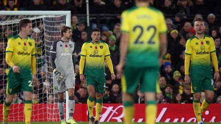 Norwich City's players are enduring a difficult stage of the Premier League season, following a 2-0