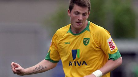 Michael Spillane playing for Norwich City. Picture: Mark Chapman/Focus Images