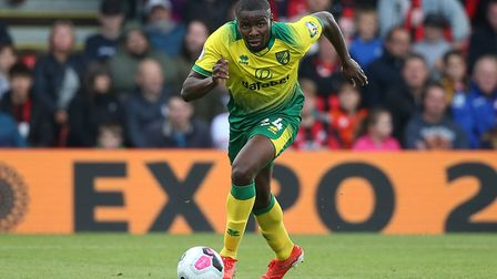 Ibrahim Amadou of Norwich in action during the Premier League match at the Vitality Stadium, Bournem