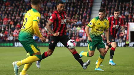 Bournemouth's Callum Wilson - couldn't find the net against Norwich Picture: PA