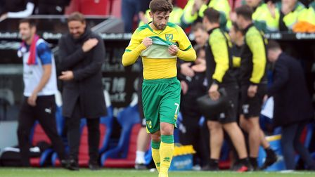 Patrick Roberts has found game time hard to come by at Carrow Road so far. Picture: Paul Chesterton/