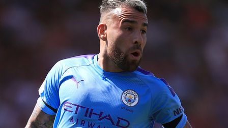Manchester City defender Nicolas Otamendi has the best average pass completion percentage in the Pre