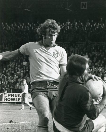 Against Derby in October, 1975 Picture: Archant Library