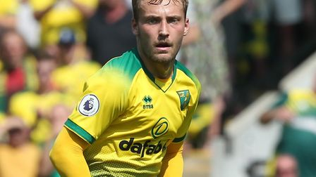 Norwich City midfielder Tom Trybull is an option for Manchester United's visit Picture: Paul Chester