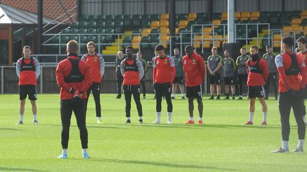 Staff and players at Norwich City observed a moment's silence on Friday morning in honour of Duncan