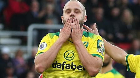 Teemu Pukki scored six goals in five matches but has failed to score another since. Picture: Paul Ch