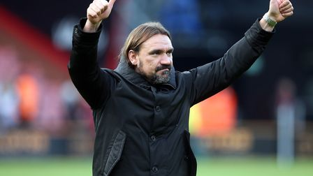 Norwich City head coach Daniel Farke remains popular on social media, according to a new study Pictu