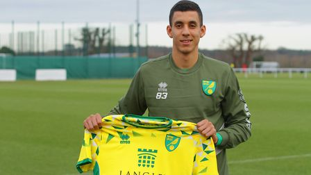 Gassan Ahadme was on target in Norwich City U23s 4-1 defeat to West Ham's development squad. Picture