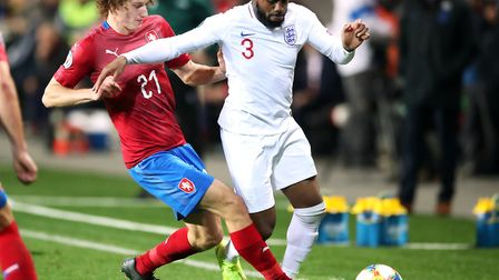 Czech Republic's Alex Kral in action against England earlier this month. Picture: Nick Potts/PA