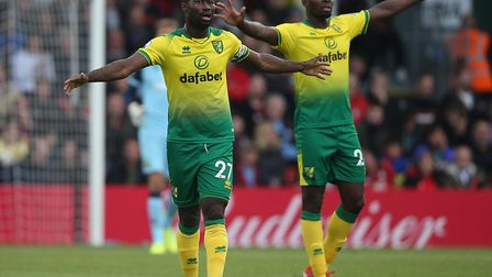Alex Tettey and Ibrahim Amadou helped City earn a clean sheet at Bournemouth in their previous away