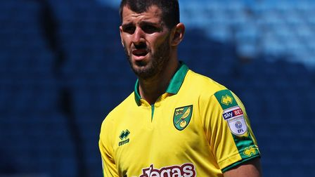 Nelson Oliveira joined AEK Athens from Norwich City Picture: Paul Chesterton/Focus Images