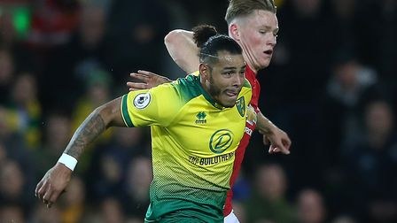 Onel Hernandez was touch and go to face Brighton Picture: Paul Chesterton/Focus Images Ltd
