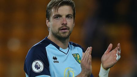 Norwich City keeper Tim Krul had tests on his knee after suffering pain in the 3-1 Premier League de