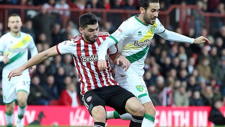 Forward Neal Maupay made a big money move to Brighton in the summer Picture: Paul Chesterton/Focus I