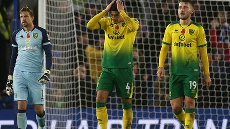 Norwich City had that sinking feeling again at Brighton Picture: Paul Chesterton/Focus Images Ltd