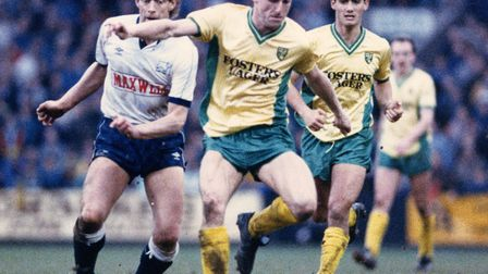 Townsend during his Norwich City playing days. Picture: Archant
