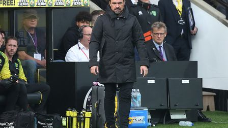 Daniel Farke has had to attempt to produce a winning team in an injury crisis. Picture: Paul Chester