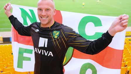 John Ruddy earned a Three Lions cap when still at City but injury thwarted his Euro 2012 involvement