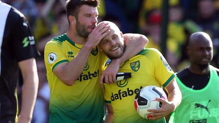 Grant Hanley played the first three games of this season for Norwich City, before needing injury tre