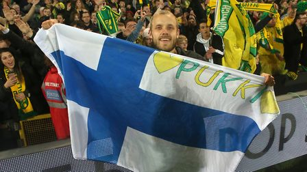 Will there be a Pukki party in Finland tonight? Picture: Paul Chesterton/Focus Images