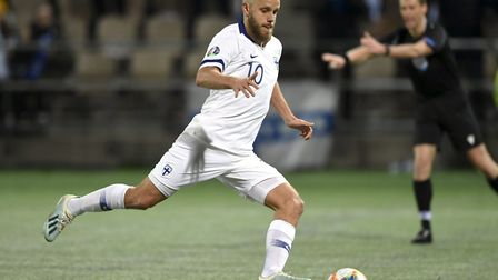 Teemu Pukki has become a national hero in his native Finland after firing them to Euro 2020. Picture