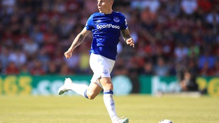 Lucas Digne's form has been a bright spot for Everton this season Picture: PA
