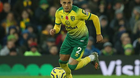 City's Max Aarons - will he benefit from some time, and games, with England Under-21s? Picture: Paul