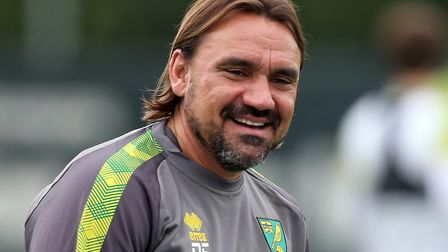 Norwich City head coach Daniel Farke took questions from supporters in an online Q&A Picture: Paul C