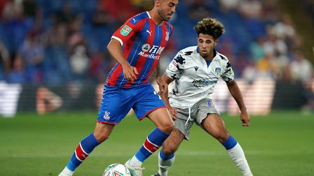 Victor Camarasa is looking for a way out of Crystal Palace according to reports. Picture: PA