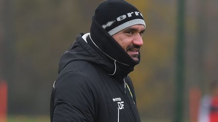 NCFC Training 21st November 2019 Pictures: BRITTANY WOODMAN