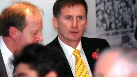 Glenn Roeder's feisty performance at City's 2008 AGM was particularly memorable Picture: Sonya Dunca